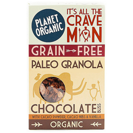 Planet Organic Paleo Granola Chocolate Bliss - 350g - Best before date is 7th May 2018