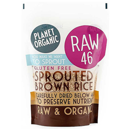 Planet Organic Sprouted Brown Rice - 400g