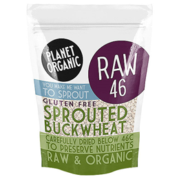 Planet Organic Sprouted Buckwheat - 400g