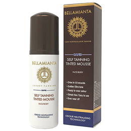 Bellamianta Rapid Self Tanning Tinted Mousse - 150ml