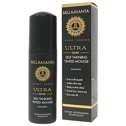 Bellamianta Ultra Dark Self Tanning Tinted Mousse - 150ml