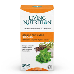 Living Nutrition Candi-X - 60 Capsules