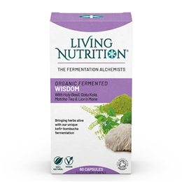 Living Nutrition Cognitive - 60 Capsules