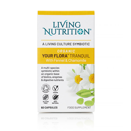Living Nutrition Your Flora: Tranquil - 60 Capsules