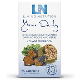 Living Nutrition Your Daily - 60 Capsules - Best before date is 29th March 2020