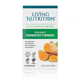 Living Nutrition Turmeric Alive - 60 Capsules