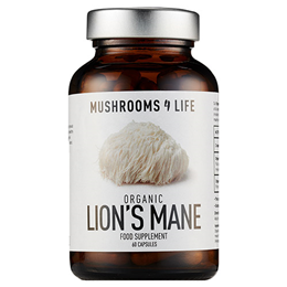 Mushrooms 4 Life Organic Lion`s Mane - 60 Capsules