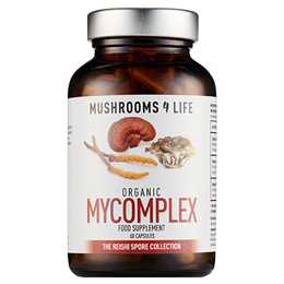 Mushrooms 4 Life Organic Mycomplex - 60 Capsules