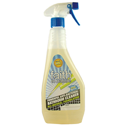 Faith in Nature Antibacterial Bathroom Spray Cleaner - 500ml