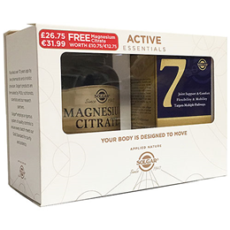 Solgar 7 30 Capsules with Free Magnesium Citrate 60 Capsules - Best before date is 31st May 2019