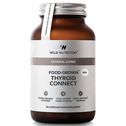 Wild Nutrition Food-Grown Thyroid Connect - 60 Capsules