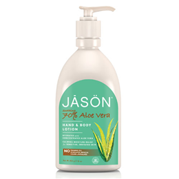 Jason Soothing 70% Aloe Vera Hand and Body Lotion - 454g