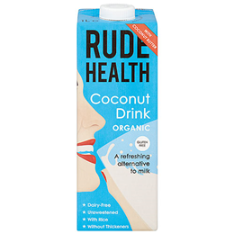 Rude Health Organic Coconut Drink - 1 Litre
