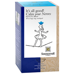 Sonnentor Organic Calm your Nerves - 18 Teabags