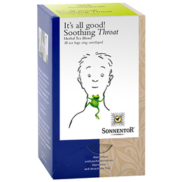 Sonnentor Organic Soothing Throat - 18 Teabags