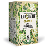 Heath & Heather Organic Sage & Lemon Myrtle - 20 Bags