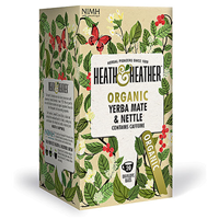 Heath & Heather Organic Yerba Mate & Nettle - 20 Bags