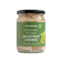 Clearspring Organic Young Jackfruit Chunks - 500g