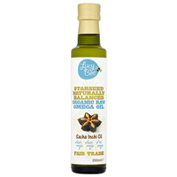 Lucy Bee Organic Raw Starseed Sacha Inchi Oil - 250ml