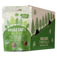 Whole Earth Protein Balls - Pumpkin & Chia - 6 x 50g