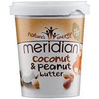Meridian Coconut & Peanut Butter - 454g - Best before date is 31st October 2018