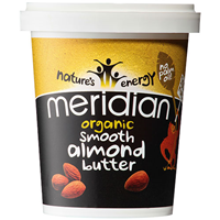 Meridian Organic Smooth Almond Butter - 454g