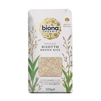 Biona Organic Risotto Wholegrain Rice - 500g