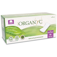 Organyc Flat Panty Liners (Light Flow) - 24 Pack