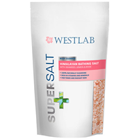 Westlab Supersalt - Body Cleanse - Himalayan Salt - 1kg - Best before date is 23rd February 2019