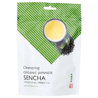 Clearspring Organic Sencha Loose Green Tea - 125g