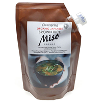 Clearspring Organic Brown Rice Miso Pouch - 300g