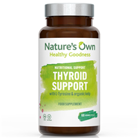 Natures Own Thyroid Support - 60 Vegicaps