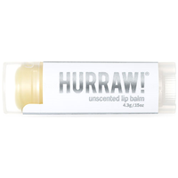 Hurraw Unscented Lip Balm - 4.3g