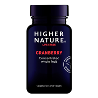 Higher Nature Cranberry Extract - 90 x 500mg Vegicaps