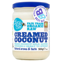 Lucy Bee Organic Fair Trade Creamed Coconut - 500g
