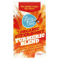 Lucy Bee Organic Super Boost Turmeric Blend - 125g