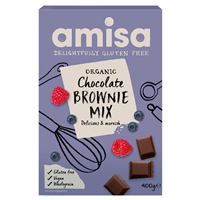 Amisa Organic Chocolate Brownie Mix - 400g