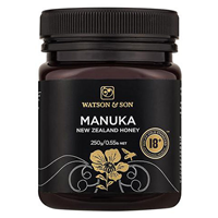 Watson and Son Manuka Honey - MGS 18+ - 250g - Best before date is 30th September 2019