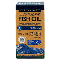 Wiley`s Finest Wild Alaskan Fish Oil Peak EPA - 30 Caps