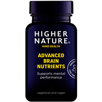 Higher Nature Advanced Brain Nutrients - 180 Capsules