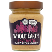 Whole Earth 3 Nut Butter Peanut, Pecan & Walnut 227g