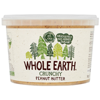Whole Earth Crunchy Peanut Butter - 1kg