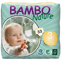 Bambo Nature Midi (Size 3) - 33 Nappies