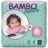 Bambo Nature XL (Size 6) - 22 Nappies