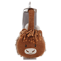 Aroma Home Highland Cow Cosy Earmuffs