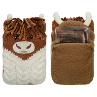Aroma Home Click & Heat Highland Cow Hand Warmers