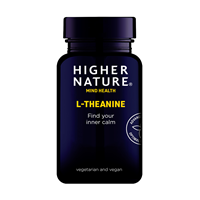 Higher Nature Theanine - 90 x 100mg Vegicaps
