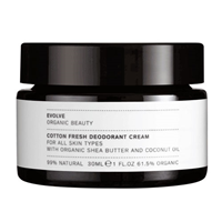 Evolve Cotton Fresh Deodorant Cream - 30ml