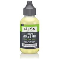Jason Men`s Shave Oil - Sensitive Skin - 59ml