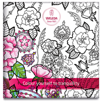 Weleda Mindfulness Colouring Book & Pencils